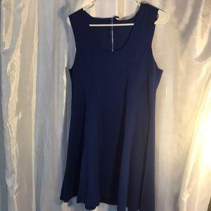 Darling Royal Violet Blue Romper Dress